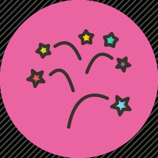 bang, blast, celebration, christmas, festival, fireworks, new year icon