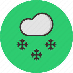 christmas, cold, december, new year, snow, weather, winter icon