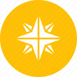 bright, christmas, new year, northern, pole, star, twinkle icon