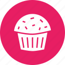 cake, christmas, cup, dessert, new year, pastry, sweet icon