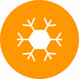 christmas, cold, frost, new year, snow, snowflake, winter icon