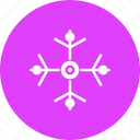 celebration, christmas, decoration, new year, snow, snowflake, winter icon