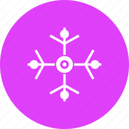 celebration, christmas, decoration, new year, snow, snowflake, winter icon