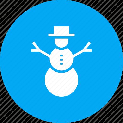 celebration, christmas, decoration, holiday, snow, snowman, winter icon