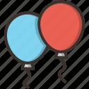 balloon, birthday, celebration, celebrations icon