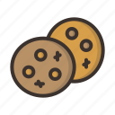 bake, chip, chocolate, christmas, cookie, cookies, dessert icon