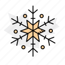 christmas, holidays, snowflake, winter icon