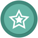 favourite, new, star, stars icon