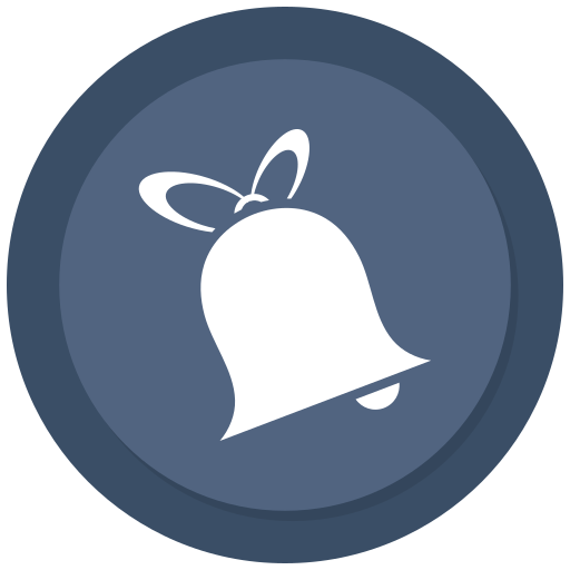 alarm, bell, christmas, christmas bell, decoration icon
