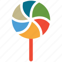 candy, christmas, decoration, lollipop icon