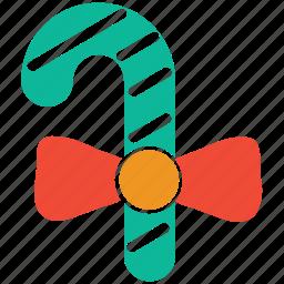 candycane, christmas, decoration, gift icon