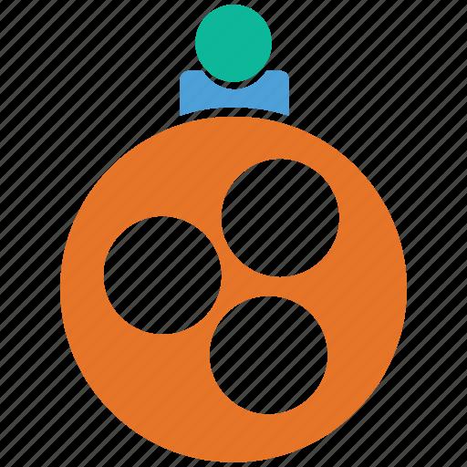 bauble, christmas, christmas ball, decoration icon