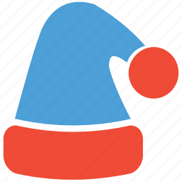 christmas, christmas hat, santa claus hat, santa hat icon