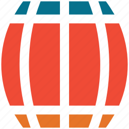 barrel, cask, keg, toxic icon