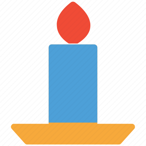 candle, candle in holder, christmas, decoration icon