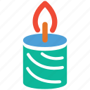 candle, celebration, christmas, decoration icon
