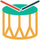 base drum, celebration, drum, music instrument icon