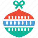 celebration, christmas, christmas bauble, decoration icon