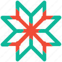 celebration, christmas, decoration, snowflake icon