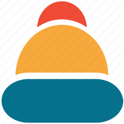 cap, christmas, hat, santa hat icon