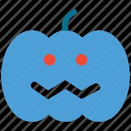 halloween, happy face, pumpkin, scary icon