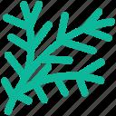 christmas, decoration, tree branch, twigs ornament icon