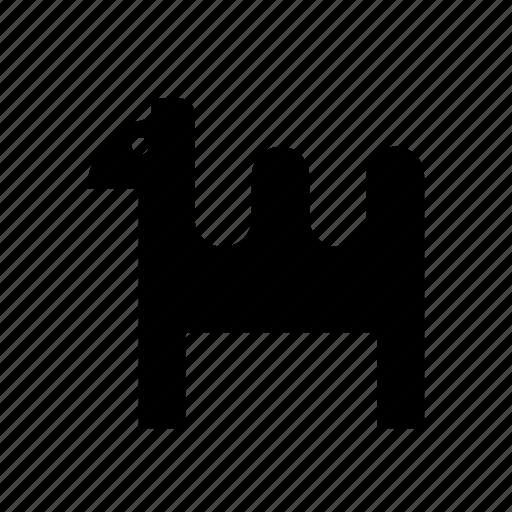 animal, camel, christmas, desert, dromedary, holidays icon
