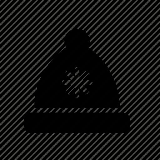 bonnet, cap, hat, hood, winter, wool icon