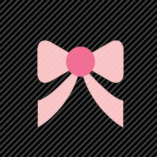 bow, christmas, decoration, decorative, ornament, pink, ribbon icon