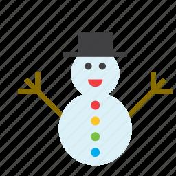 christmas, december, holdiays, snowman, winter, xmas icon