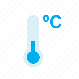 celsius, cold, december, temperature, thermometer, weather, winter icon