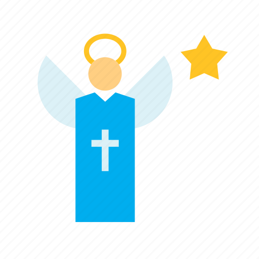 angel, catholic, christian, christianity, christmas, holdiays, xmas icon