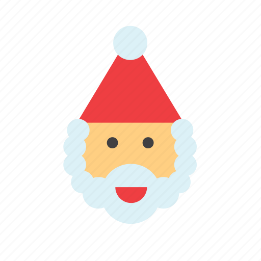 christmas, claus, face, head, holdiays, santa, santas icon