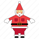 christmas, claus, father, santa, santas, xmas icon
