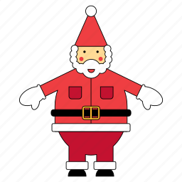 christmas, claus, father, santa, santas, xmas icon