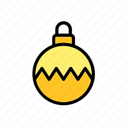 ball, christmas, decoration, decorative, ornament, tree, xmas icon