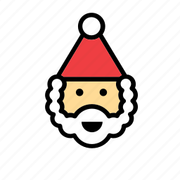 christmas, face, holidays, santa, santa claus, santas, xmas icon