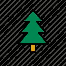 christmas, fir, nature, tree, winter, xmas icon