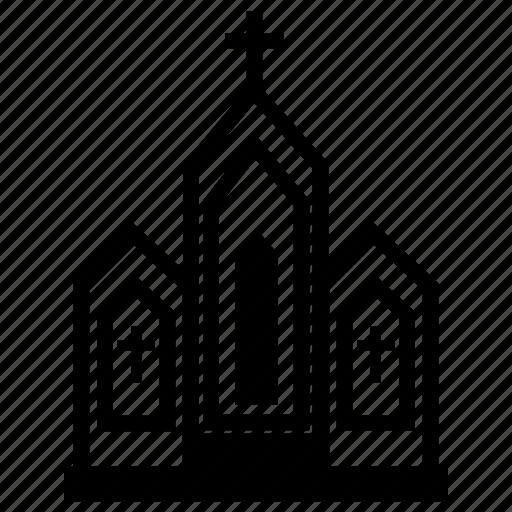 christian church, church, church building, god, pray hall icon