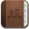adress book, contacts icon