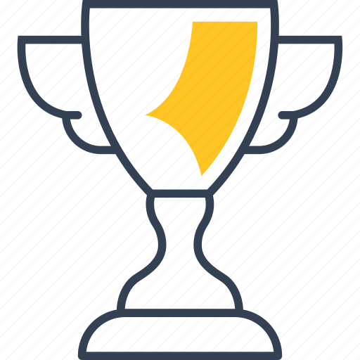Movie, cinema, win, cup icon