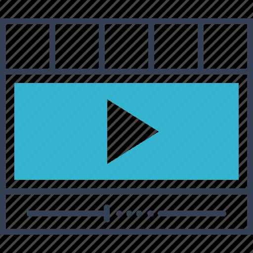 cinema, movie, pause icon