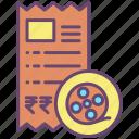 movie, ticket