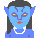 avatar, movie, neytiri, superhero icon