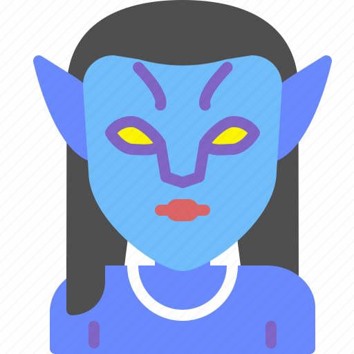 avatar, movie, neytiri, superhero icon