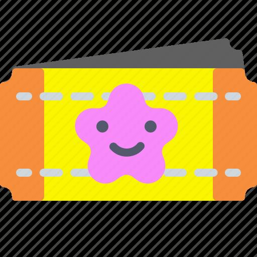 cinefil, entertainment, movie, tickets icon