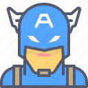 america, avengers, captain, marvel, movie, superhero icon