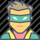 dark, knight, movie, robin, superhero icon