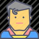 batman, hero, invincible, superhero, superman icon