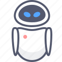 android, animation, cartoon, female, robot, walle